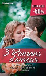 Vente EBooks : Le baiser de la mariée - Le plus beau jour de leur vie - Un mari idéal  - Shirley Jump - Cara Colter - Melissa McClone