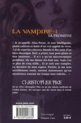 La vampire t.1 ; la promesse