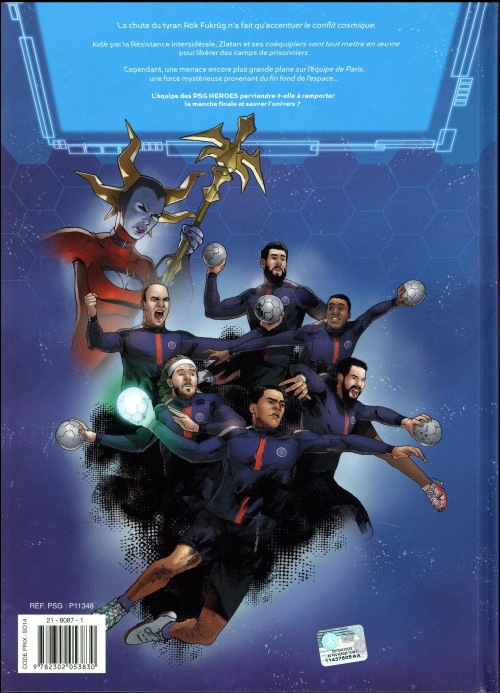 PSG heroes t.3 ; finale cosmique