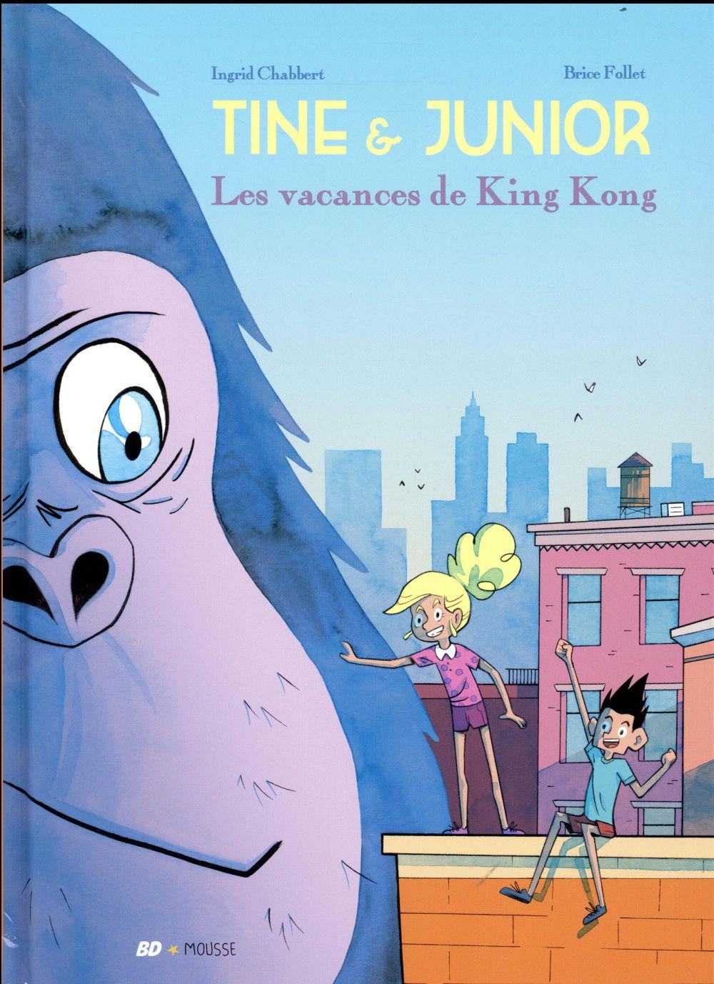 Tine et Junior t.1 ; les vacances de King Kong