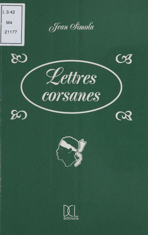 Lettres corsannes