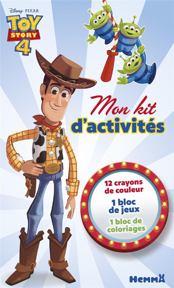 Mon kit d'activités ; Toy Story 4