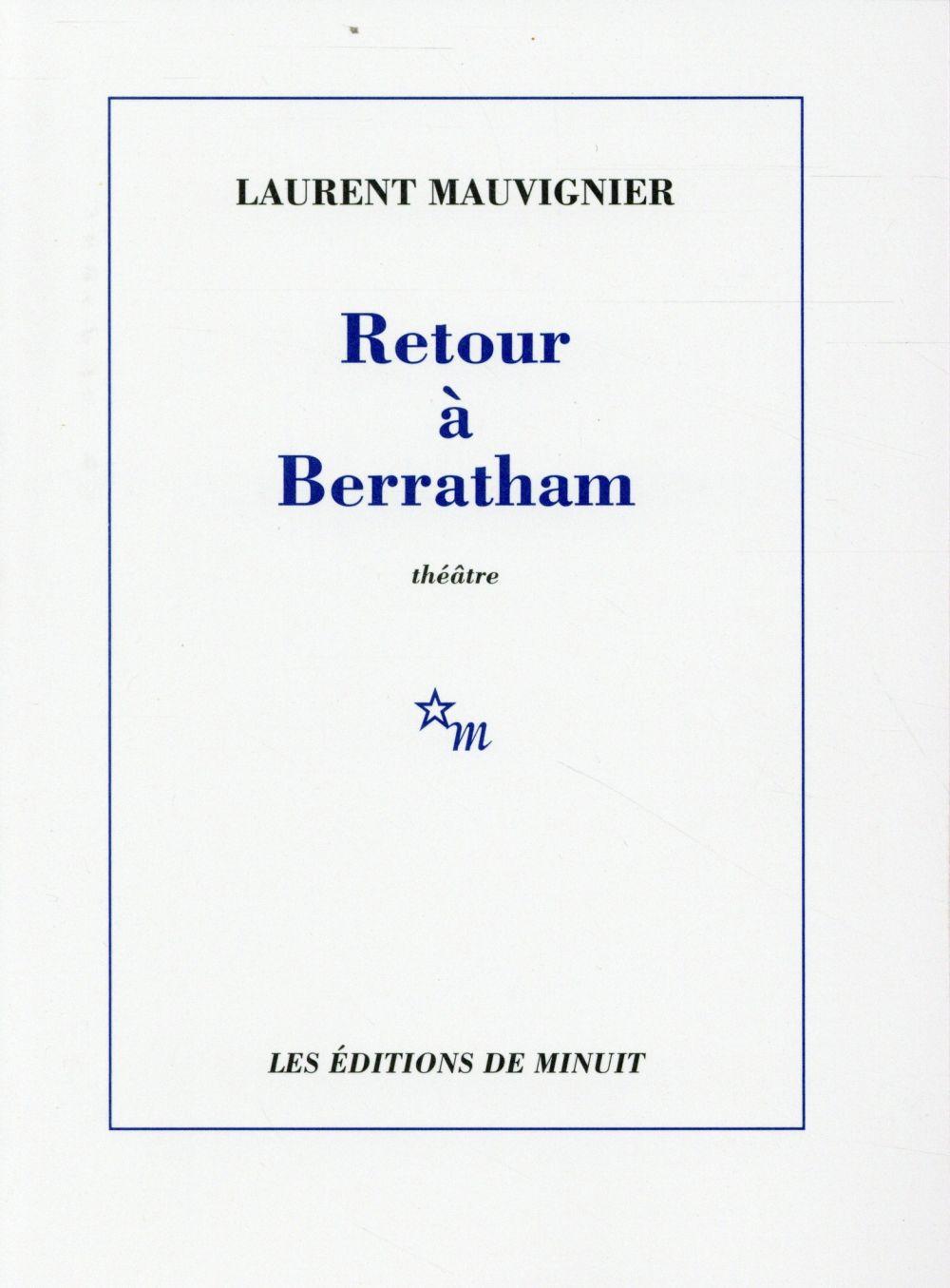 RETOUR A BERRATHAM