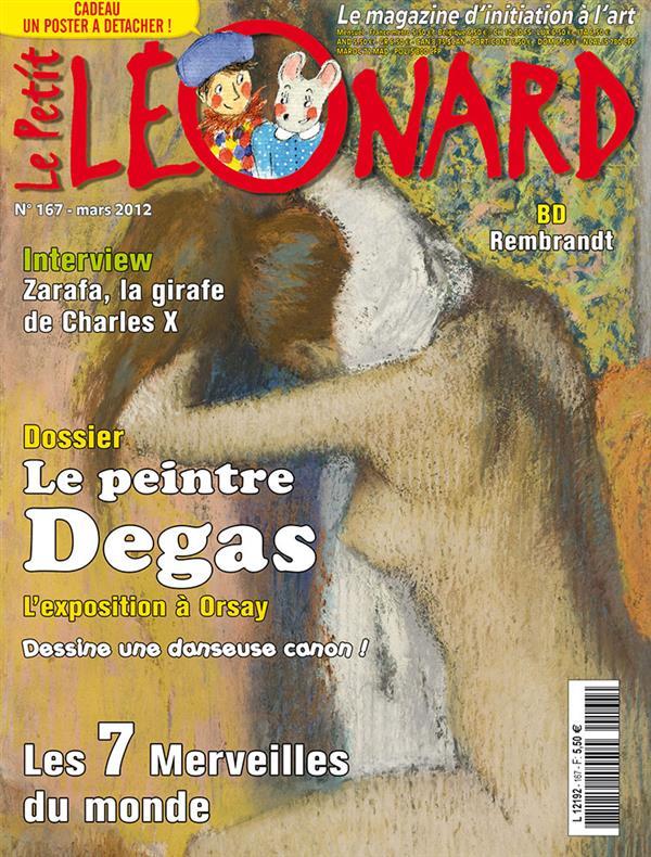 Le petit leonard t.167 ; le peintre degas