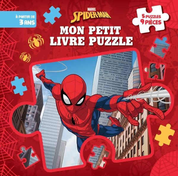 Mon Petit Livre Puzzle ; Spiderman
