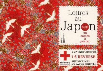 Lettres au Japon ; 30 cartes à poster