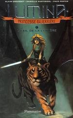 Couverture de Lumina princesse guerrière t.1 ; l'exil de la lumière