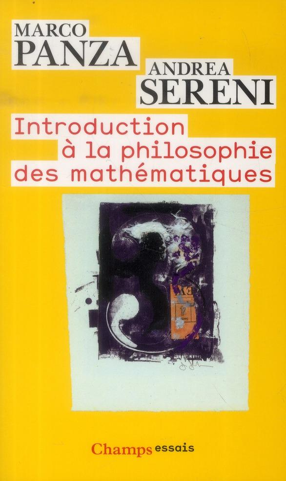 Introduction a la philosophie des mathematiques