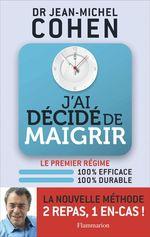 Vente Livre Numérique : J'ai décidé de maigrir  - Jean-Michel COHEN