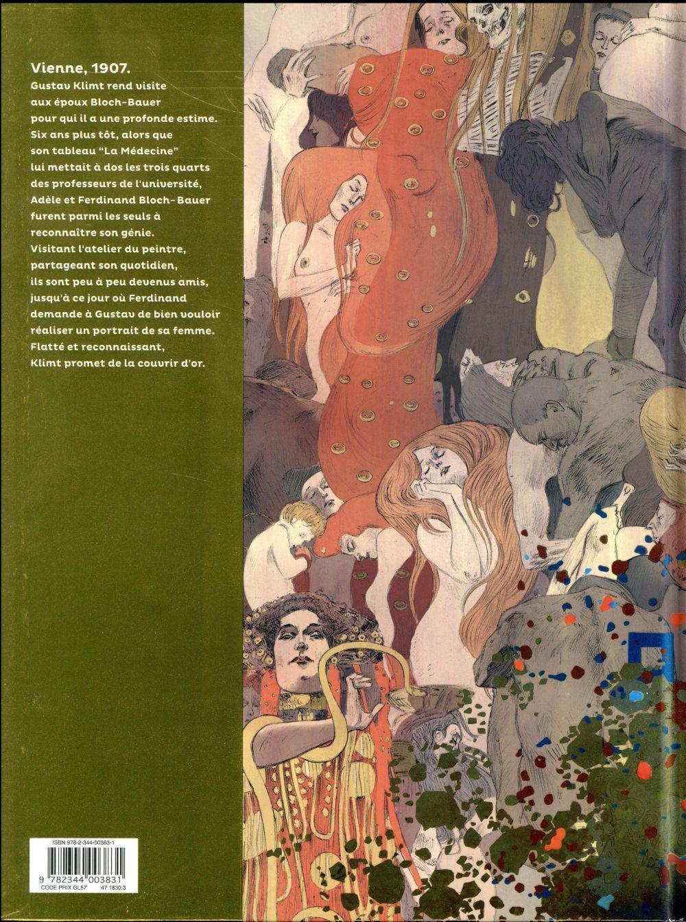LES GRANDS PEINTRES ; Klimt