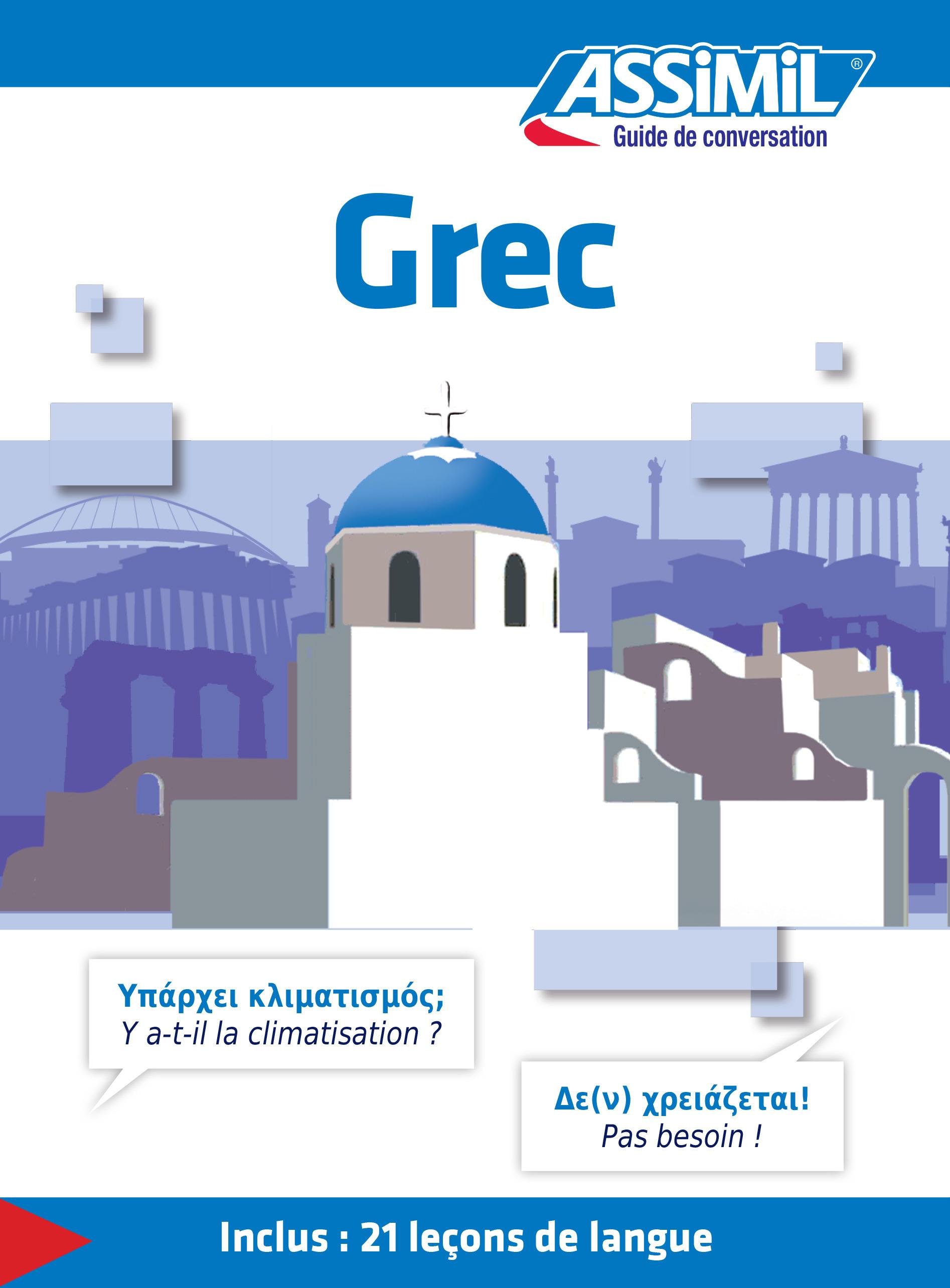 Guides de conversation ; grec