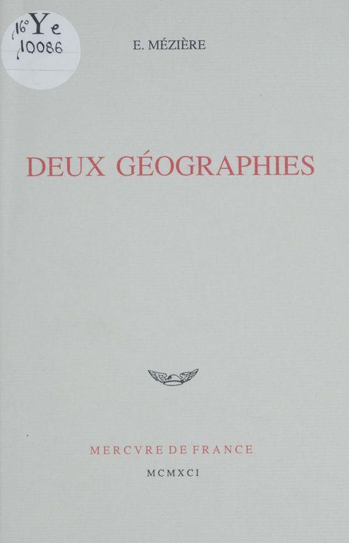 Deux geographies