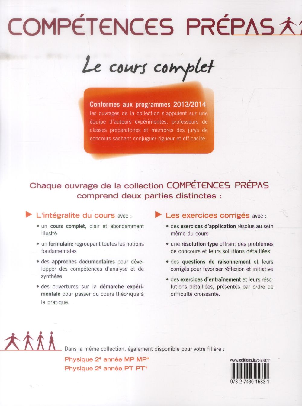 COMPETENCES PREPAS ; chimie ; 2e année MP MP - PT PT