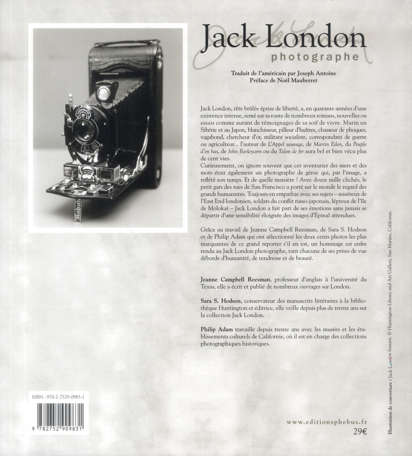 Jack London, photographe