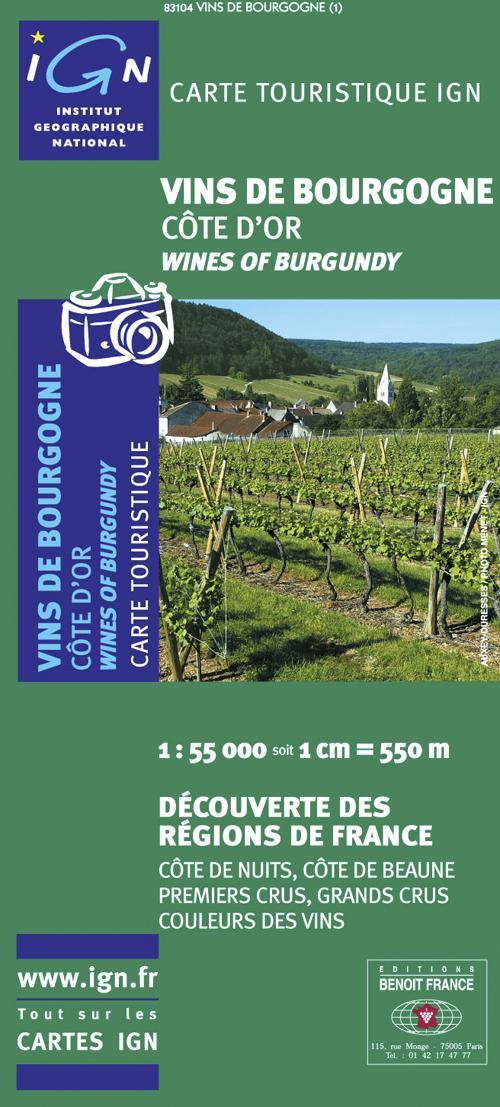 83104 ; vins de Bourgogne ; Côte d'Or