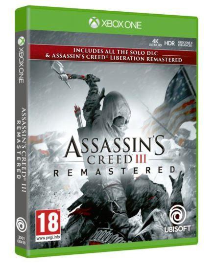 Assassin's creed 3 + assassin's creed liberation remaster