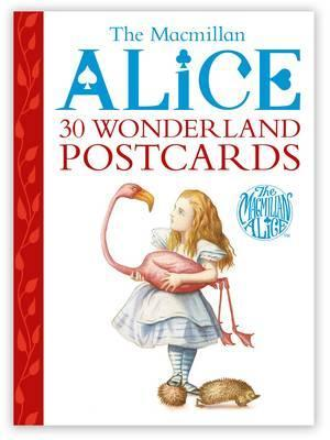 Alice postcard book