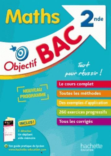 Objectif bac ; mathématiques ; 2de (édition 2017)