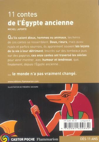 ONZE CONTES DE L'EGYPTE ANCIENNE