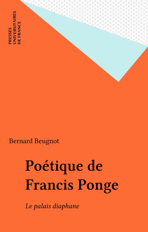 Poétique de Francis Ponge