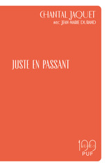 Vente Livre Numérique : Juste en passant  - Jean-Marie DURAND - Chantal Jaquet
