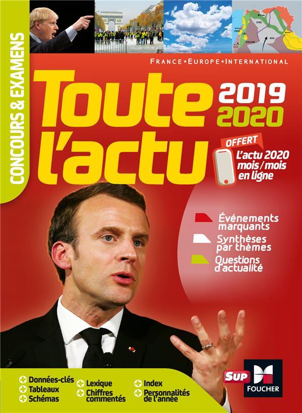 TOUTE L-ACTU 2019 - CONCOURS & EXAMENS - SUJETS ET CHIFFRES CLEFS DE L-ACTUALITE 2020