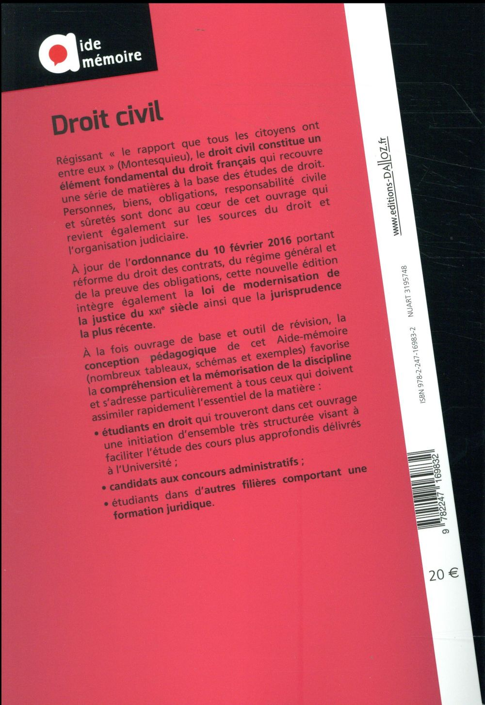 droit civil (édition 2017)