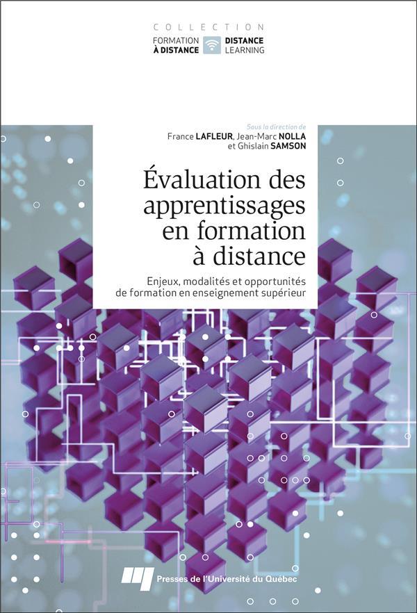 évaluation des apprentissages en formation à distance : enjeux, modalités et opportunités de formation en enseignement supérieur