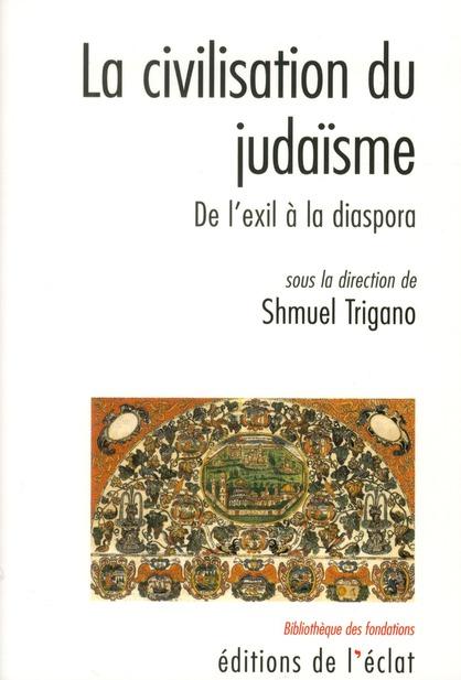 La civilisation du judaïsme