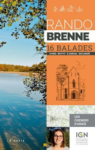 Rando Brenne ; 16 balades à pied, en VTT, en canoë
