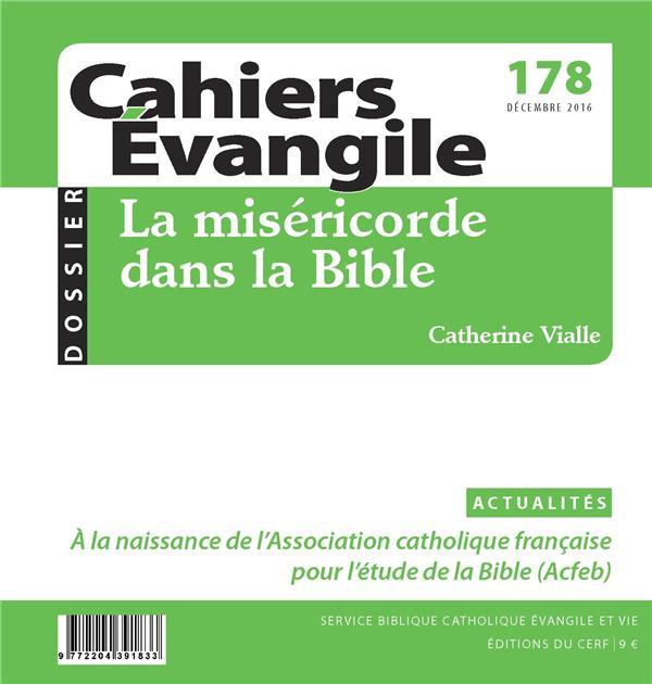 CAHIERS DE L'EVANGILE N.178  -  LA MISERICORDE DANS LA BIBLE