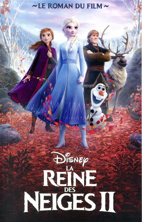La Reine des Neiges 2 ; le roman du film