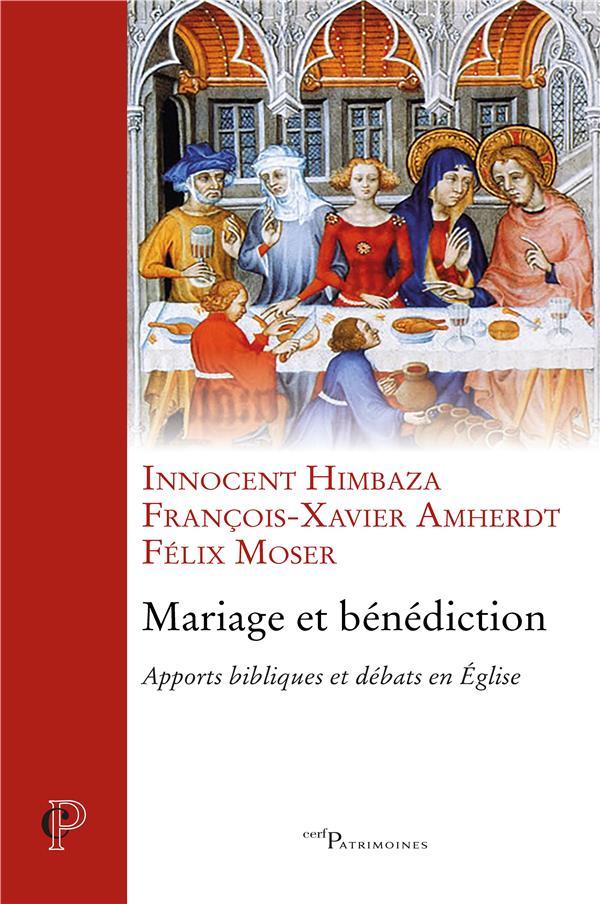 MARIAGE ET BENEDICTION