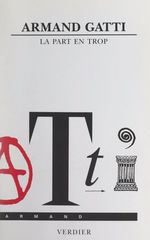 Vente Livre Numérique : La part en trop  - Armand Gatti