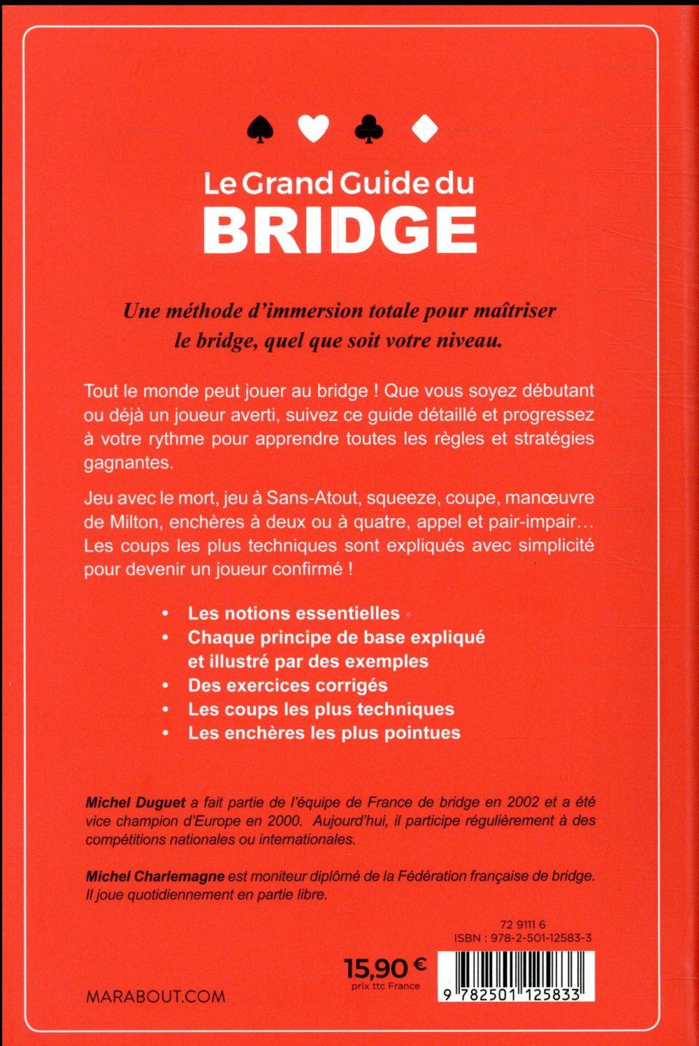 Le grand guide du bridge (édition 2018)