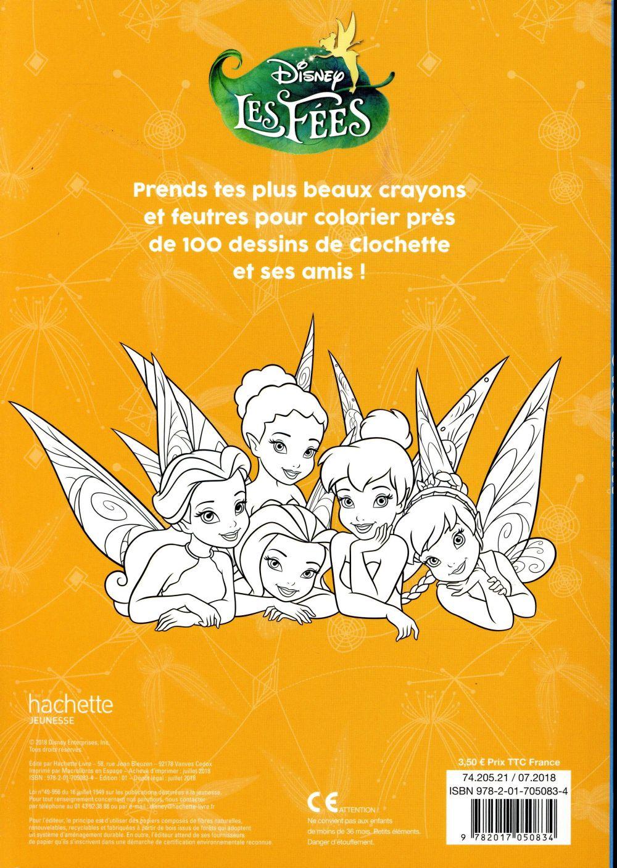 Maxi Colos La Fee Clochette Collectif Disney Hachette Papeterie Coloriage Le Hall Du Livre Nancy