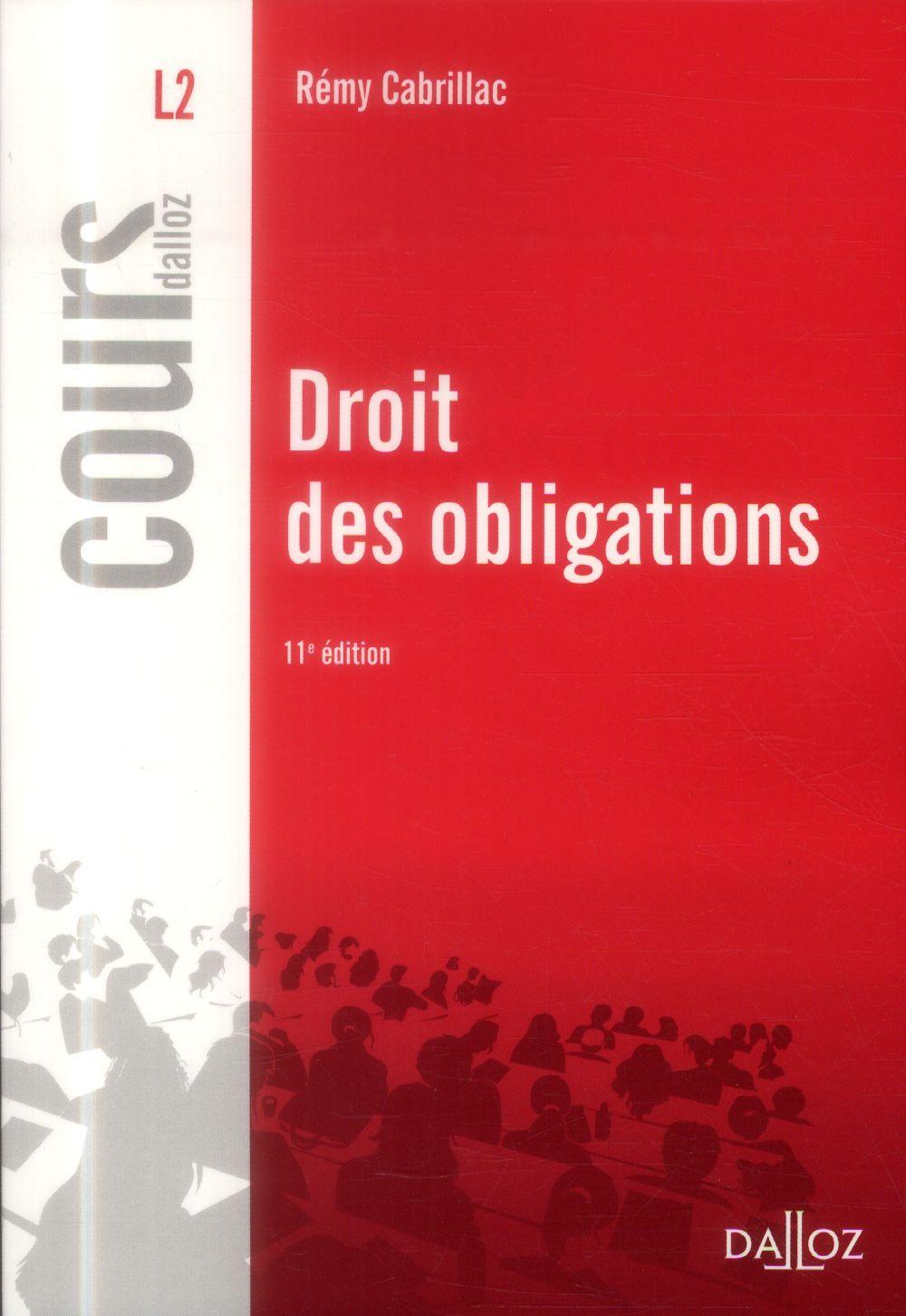 Droit Des Obligations (Edition 2014)