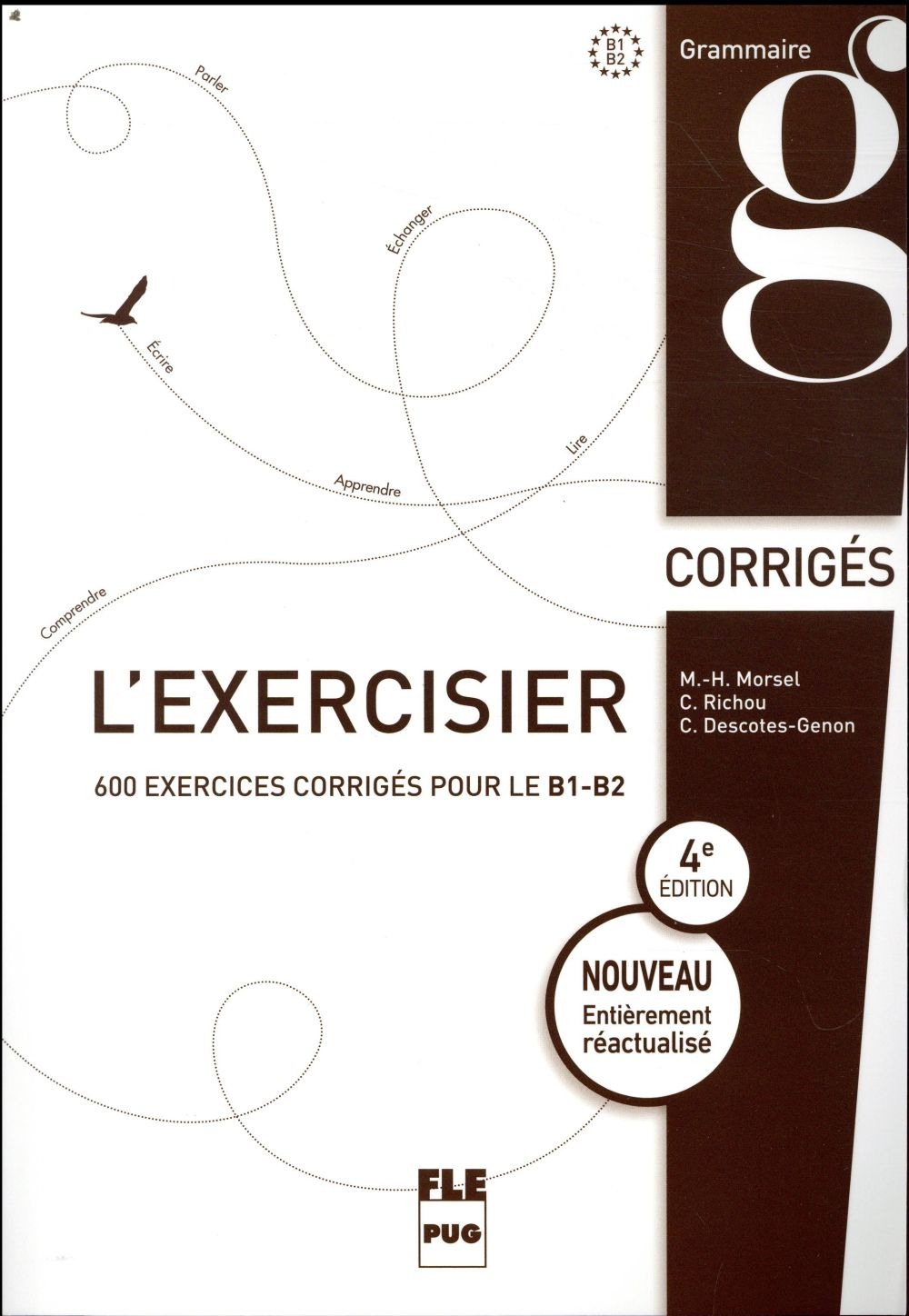 L'exercisier; corrigés des exercices