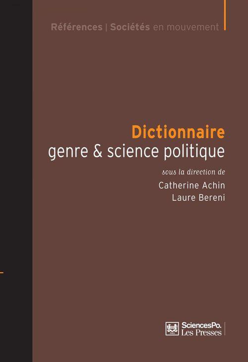 Dictionnaire genre et science politique