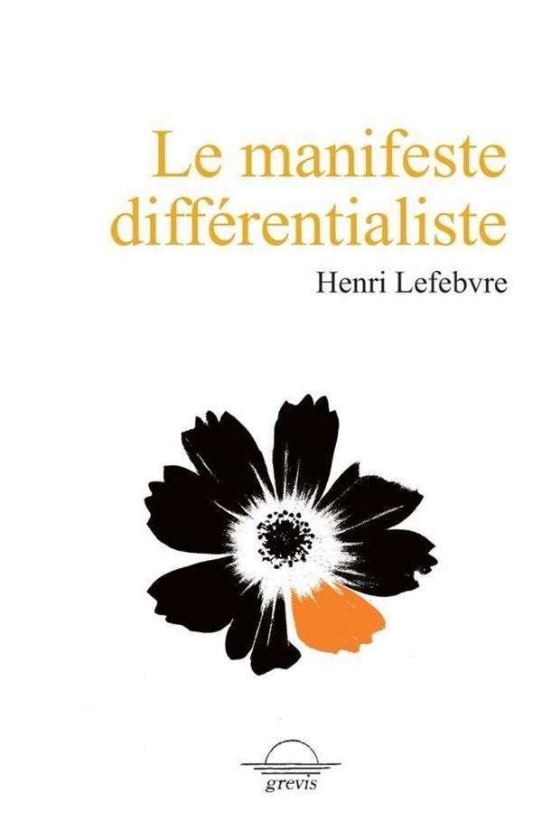 Le manifeste différentialiste