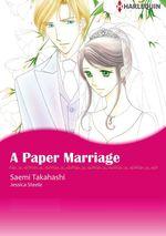 Vente EBooks : Harlequin Comics: A Paper Marriage  - Jessica Steele - Saemi Takahashi