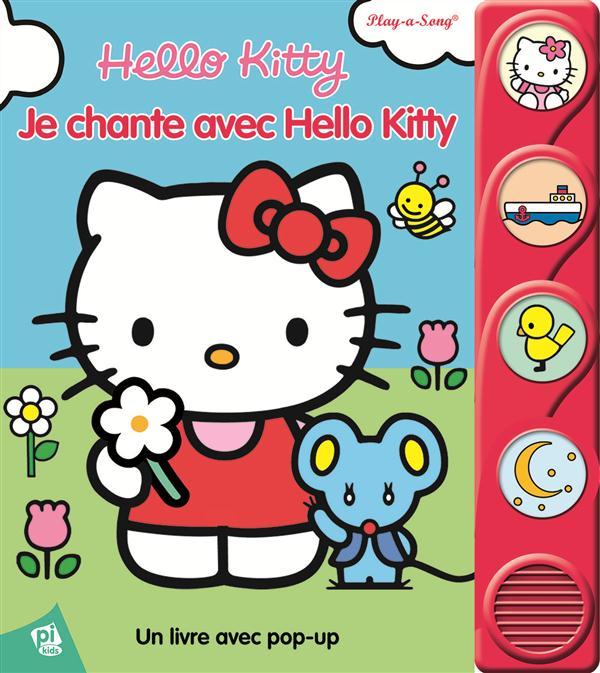 Je chante avec Hello Kitty