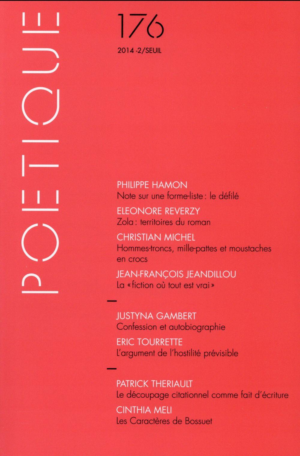 Revue poetique n.176