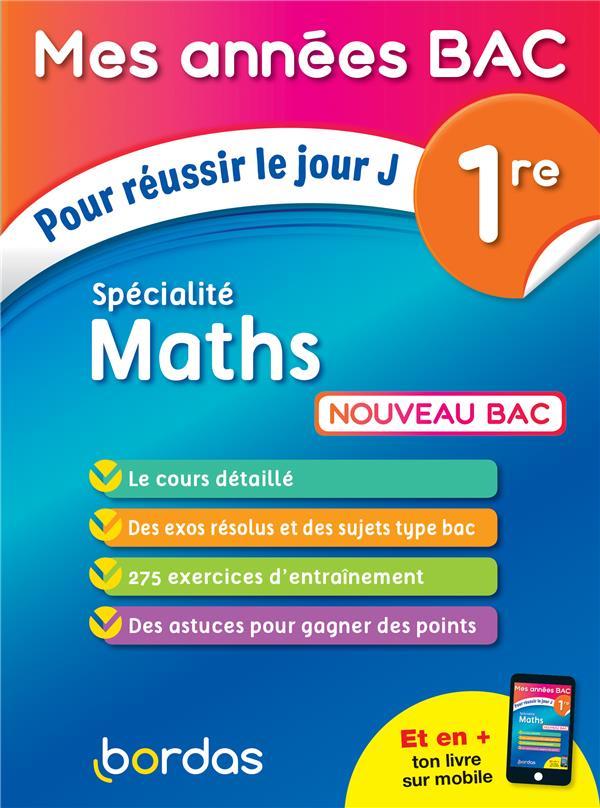 Spécialité mathématiques ; 1re (édition 2019)