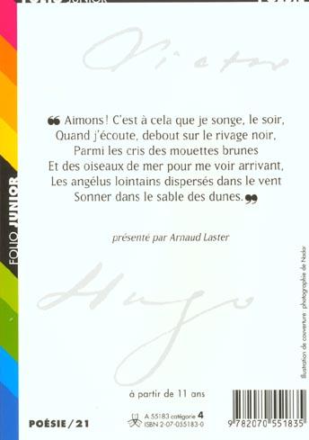 Victor Hugo ; un poète