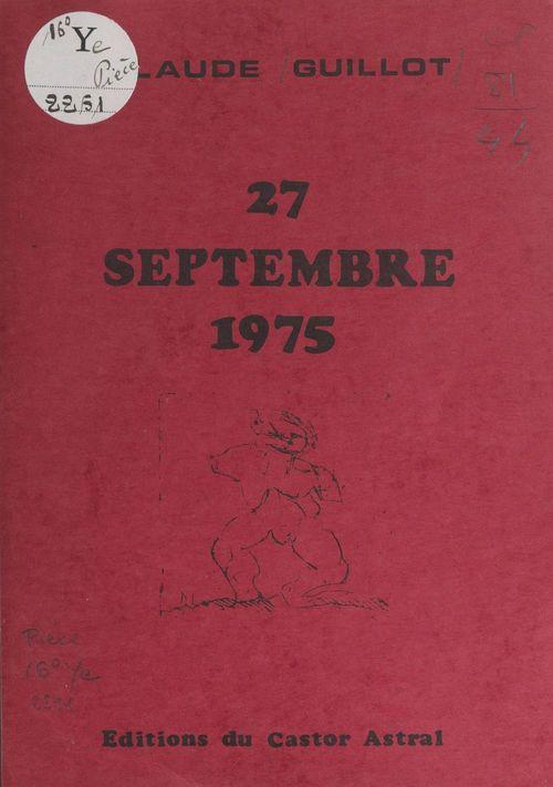 27 septembre 1975