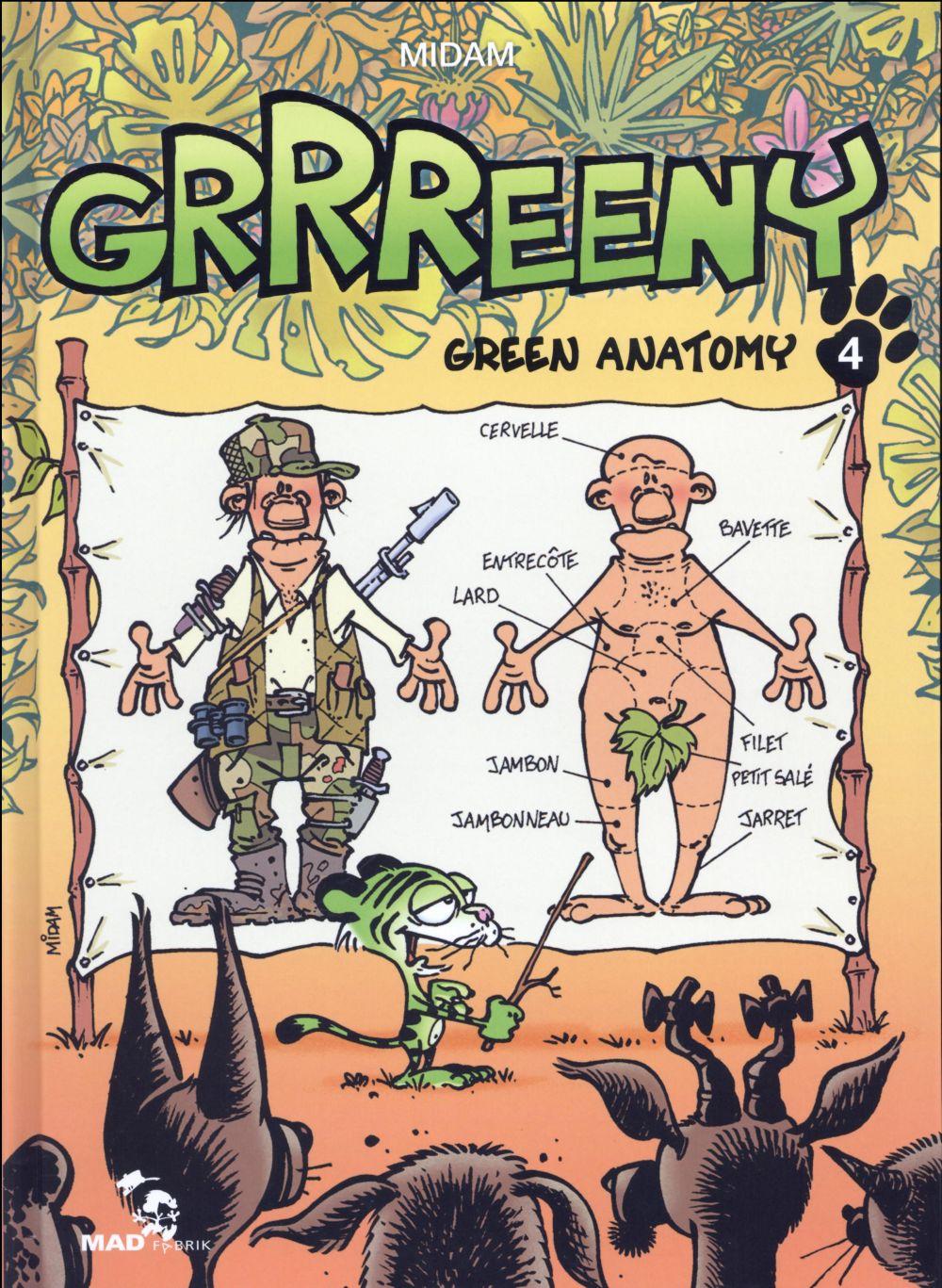 Grrreeny T.4 ; green anatomy