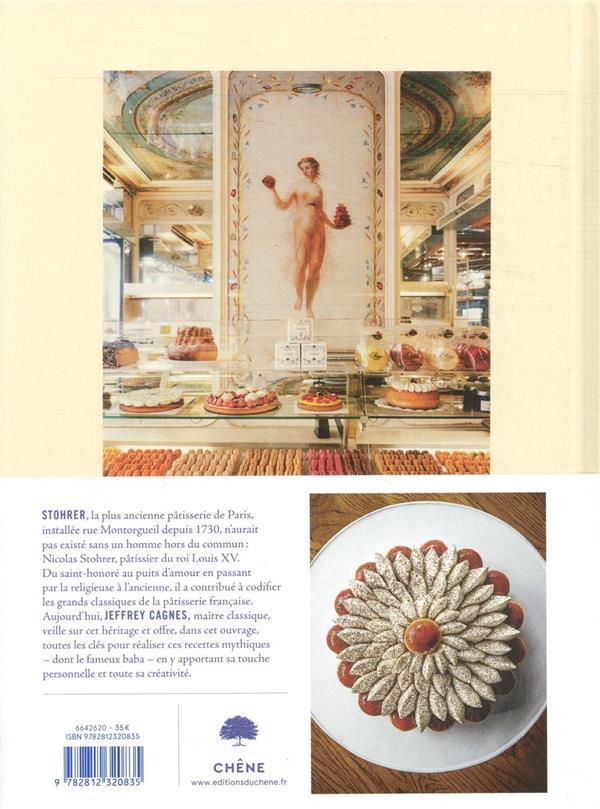 Le livre de pâtisserie Stohrer