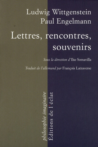 Lettres, rencontres, souvenirs