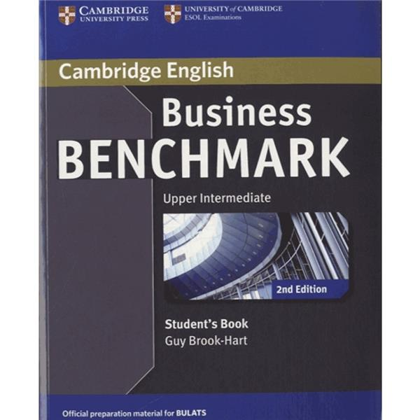 Business benchmark ; upper intermediate ; student's book (édition 2017)